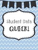 Quick Student Data