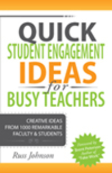 """Quick Student Engagement Ideas for Busy Teachers"" newly p"