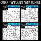 Quick Templates Mega Bundle {Creative Clips Digital Clipart}