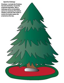 Quick Ten Christmas Tree