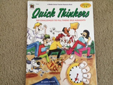 Quick Thinkers: 365 Challenges to Fill Those Idle Moments (Gr. 5-8)