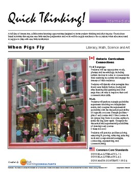 Quick Thinking - When Pigs Fly