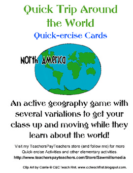 Quick Trip Quick-ercise North America Brain Breaks