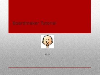 Quick User Guide on Boardmaker