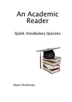 Quick Vocabulary Quizzes