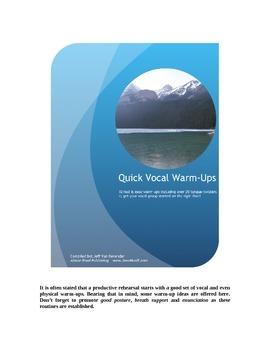 Quick Vocal Warm-Ups