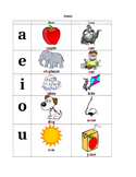 Quick Vowel (Short and Long) Reference Sheet
