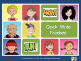 Quick Write Freebee