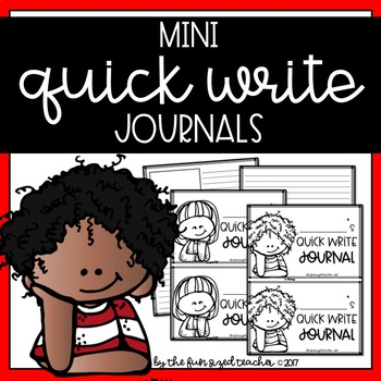 Quick Write Mini Journals
