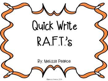 Quick Write R.A.F.T.'s