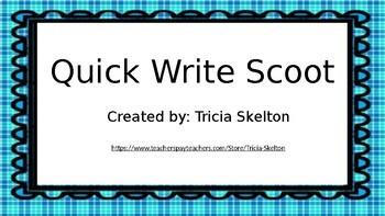 Quick Write Scoot