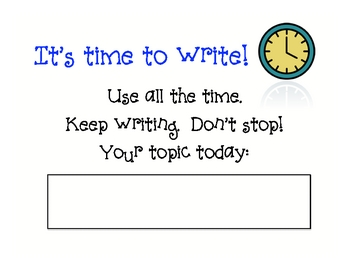 Quick Write -- Step by Step (PDF)