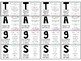 Quick Write TAGS Writing Posters, Bookmarks, Journal Page and Target Sleeve size