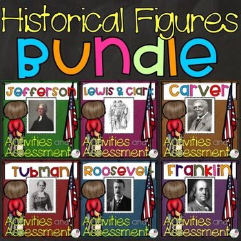 Historical Figures - Graphic Organizers, Writing, and Assessments