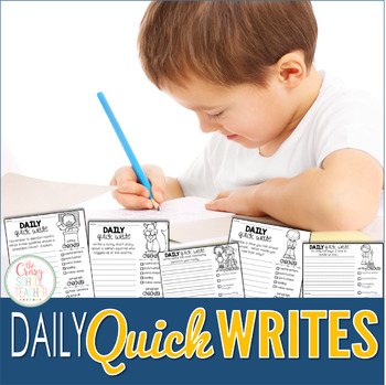 Daily Quick Writing Prompts for Big Kids