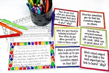 Quick Writes Journal Prompts BUNDLE | Journal Prompts for Middle School