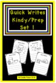 Quick Writes Kindy Set 1