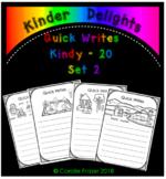 Quick Writes Kindy Set 2