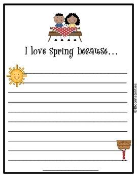 Quick Writes: Seasons