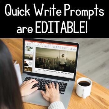Quick Writes Visual Creative Writing Prompts Bundle