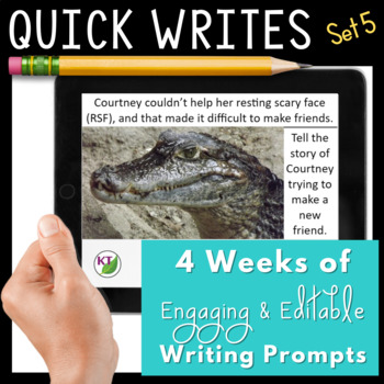 Quick Writes Visual Writing Prompts Set 5