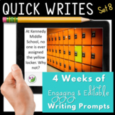 Quick Writes Visual Writing Prompts Set 8