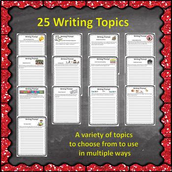 Quick Writes Writing Prompts Set 2