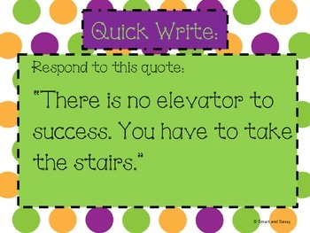 Quick Writes for Inspiring Creative Writing