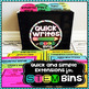 Quick Writes for STEM Bins®
