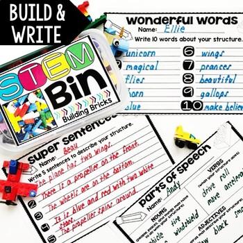 STEM Bins® Quick Writes