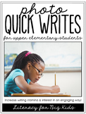 Quick Writes for Upper Elementary Students