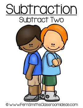 Subtraction CenterA Quick and Easy to Prep Subtract Two Center Game