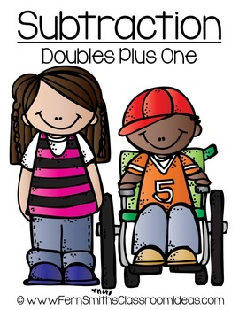 A Quick and Easy to Prep Doubles Plus One Subtraction Center Game