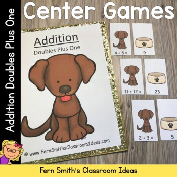 Addition Doubles Plus One Centers A Quick and Easy to Prep