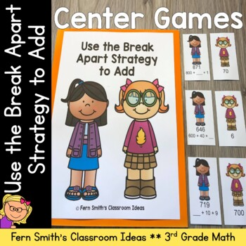 Break Apart Strategy for Place Value Quick and Easy to Pre