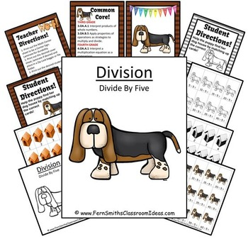 Division Center Game Divide By Five A Quick and Easy to Prep Center