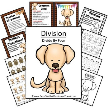 Division Center Game Divide By Four A Quick and Easy to Prep Center
