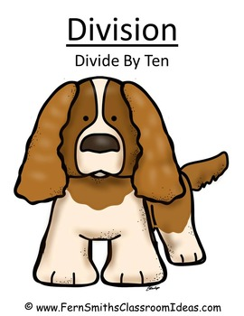 Division Center Game Divide By Ten A Quick and Easy to Prep Center