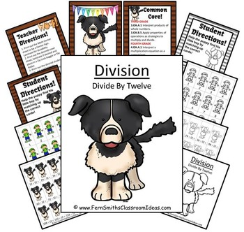 Division Center Game Divide By Twelve A Quick and Easy to Prep Center