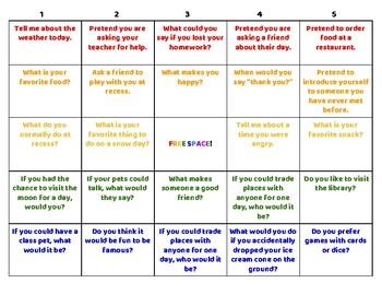 Quick and Easy Conversation Bingo