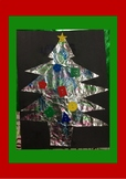 Quick and Easy Craft - Tie Dye Trees