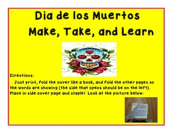 Quick and Easy Dia de los Muertos Make and Take Book Grades 3 and 4