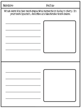 Quick and Easy Exit Tickets: Spanish and French