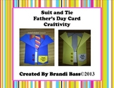 Quick and Easy Father's Day Card Craftivity and Father's D