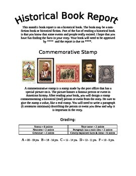 Quick and Easy Historical Book Report