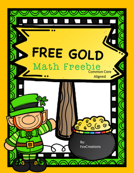 Quick and Easy March Math Printables
