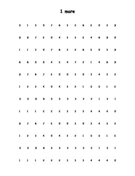 Quick and Easy Math Fluency Packet