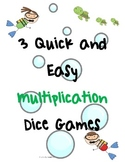 Quick and Easy Multiplication Dice Games
