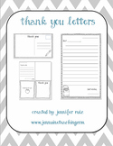 Quick and Easy Thank You Letters