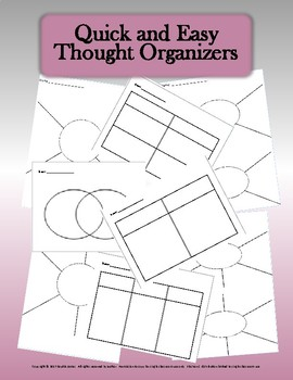 Quick and Easy Thought Organizers